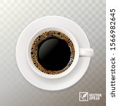 3d realistic vector cup of... | Shutterstock .eps vector #1566982645
