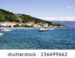 view on the island krk in the... | Shutterstock . vector #156699662