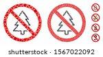 no fir tree mosaic of rough...   Shutterstock .eps vector #1567022092
