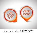 vector pointer click here... | Shutterstock .eps vector #156702476