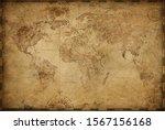Vintage Old World Map Based On...