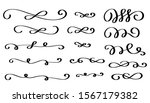 calligraphy swirls  text... | Shutterstock .eps vector #1567179382