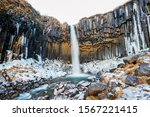 Iceland Skaftafell Waterfall I...