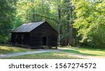 A Historic Wooden School In The ...