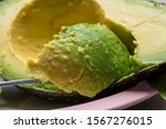 eating of fresh ripe green... | Shutterstock . vector #1567276015