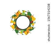fruit  food concept  vector...   Shutterstock .eps vector #1567314238