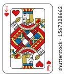 a playing card jack of hearts... | Shutterstock . vector #1567328662