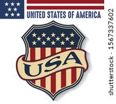 made in usa united states of... | Shutterstock .eps vector #1567337602