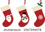 Christmas Socks Vectors ...