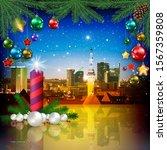 celebration illustration with... | Shutterstock . vector #1567359808