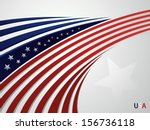 abstract background usa... | Shutterstock .eps vector #156736118