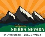 Sierra Nevada Mountains In...