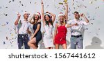 merry christmas and happy new... | Shutterstock . vector #1567441612