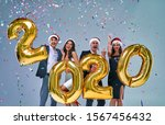 merry christmas and happy new... | Shutterstock . vector #1567456432