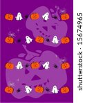 seamless colorful scary... | Shutterstock .eps vector #15674965