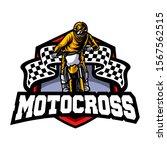 Motocross Vector Logo...