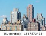 upper east side skyline in new...   Shutterstock . vector #1567573435