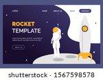website rocket illustration...