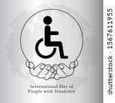 international day of people... | Shutterstock .eps vector #1567611955