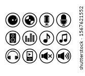 music icon gold black white ui...