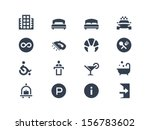 hotel icons | Shutterstock .eps vector #156783602