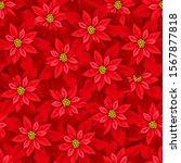 vector christmas seamless... | Shutterstock .eps vector #1567877818