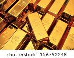 Many Gold Bars Or Ingot