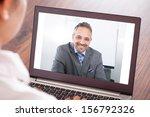 close up of woman attending... | Shutterstock . vector #156792326
