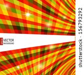 abstract retro striped colorful ... | Shutterstock .eps vector #156793292