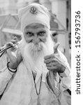 delhi  india   march 08  person ... | Shutterstock . vector #156793736