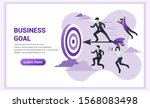 business concept. businessman... | Shutterstock .eps vector #1568083498