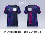 t shirt sport design template ... | Shutterstock .eps vector #1568098975