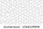 abstract background of hexagons ...   Shutterstock .eps vector #1568139898