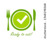 easy prep food icon isolated on ...   Shutterstock .eps vector #1568198368