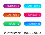 set of trendy action call... | Shutterstock .eps vector #1568265835