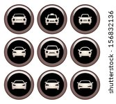 car icons copper icon set | Shutterstock .eps vector #156832136
