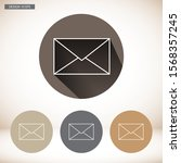 vector icon mail 10 eps . lorem ...   Shutterstock .eps vector #1568357245