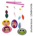 baby mobile   kids toys | Shutterstock . vector #156841436