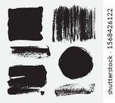 monochrome abstract vector...   Shutterstock .eps vector #1568426122