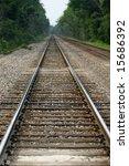 railroad tracks | Shutterstock . vector #15686392