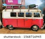 Red  Bristis Travelling Bus ...