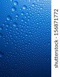 Raindrops Nano Effect On Blue...