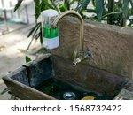 Wooden Sinks In The Garden