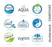 water design elements. water... | Shutterstock .eps vector #156892445