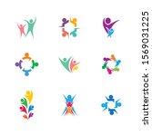 community vector icon... | Shutterstock .eps vector #1569031225