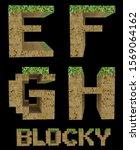 Blocky Video Game Alphabet   3...