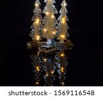 decor of the merry christmas ... | Shutterstock . vector #1569116548
