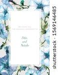 greeting frame  invitation... | Shutterstock . vector #1569146485