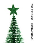 xmas or christmas tree isolated ... | Shutterstock . vector #1569161152
