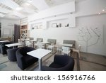 new and clean luxury restaurant ... | Shutterstock . vector #156916766